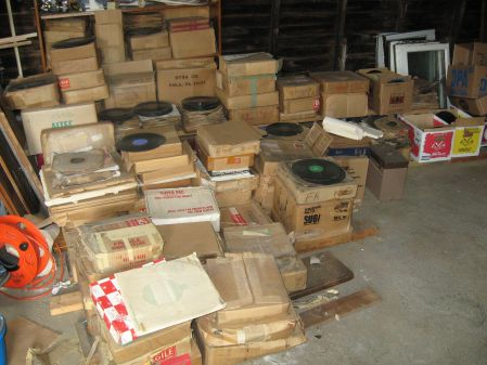 The Basement of A House Full of 78's