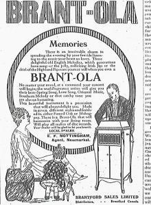 Brantola Phonograph Ad-Newmarket Era,November15, 1918