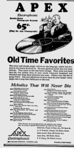 -apex records ottawa citizen 1928
