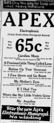 -apex records-ottawa citizen april 1929