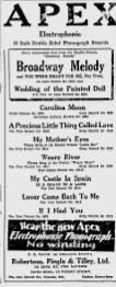 -apex records ottawa citizen may, 1929