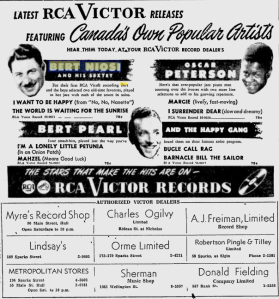 -bert niosi july 17th,1957 ottawa citizen