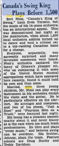 -bert niosi october 3,1941