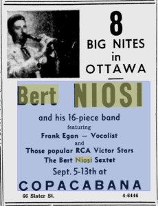 -bert niosi sept 4,1957 ottawa citizen