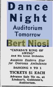 -bert niosi sept. 9,1942  ottawa citizen