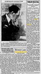 -Brunswick, Victor, Columbia Records Calgary Herald 1931
