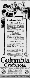 -columbia records august 1920 ottawa citizen
