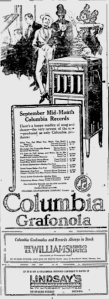 -columbia records september 1920 ottawa citizen