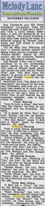-Columbia, Victor, Brunswick Records Calgary Herald 1930-2
