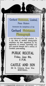 -Heintzman 1917