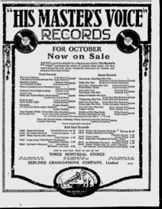 -hmv october 4,1920 montreal gazette