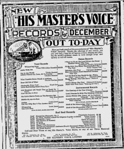 -hmv records december 1 1920 montreal gazette