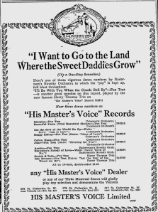 -hmv records december 4,1920 montreal gazette