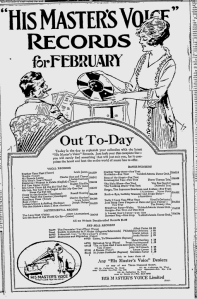 -hmv records feb 1st,1921 montreal gazette