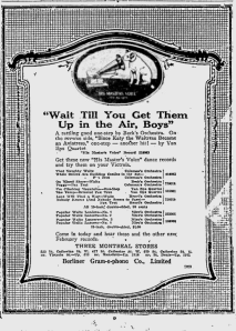 -hmv records feb 4th 1920 montreal gazette