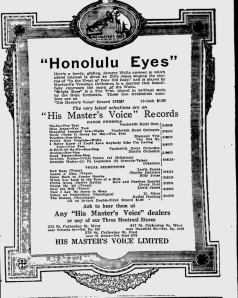 -hmv records march 5,1921 montreal gazette