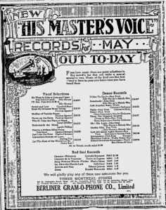 -hmv records may 1.1920 montreal gazette