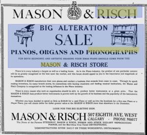 -Mason and Risch 1926