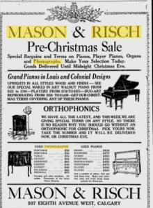 -Mason and Risch 1927