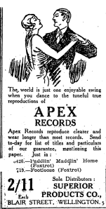 Papers Past — NZ Truth — 16 September 1926 — Page 2 Advertisements Column 1-New Zealand Ad