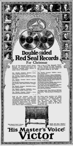 -victor records december 3rd,1923 montreal gazette