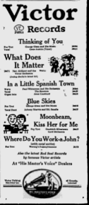 -victor records march5,1927