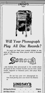 -sonora phonograph october 1920 ottawa citizen