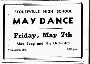 Max Boag Orchestra-Souffville Tribune, May 6, 1948