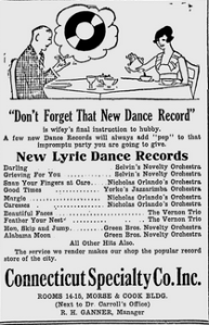 Meriden Morning Record   Google News Archive Search-Lyric records Jan 17,1921