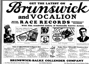 The Afro American   Google News Archive Search-Brunswick Vocalion 1927