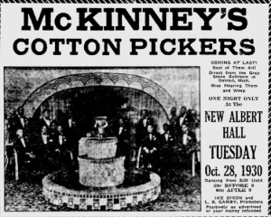 The Afro American   Google News Archive Search-McKINNEY'S COTTON PICKERS, OCT 25 1930