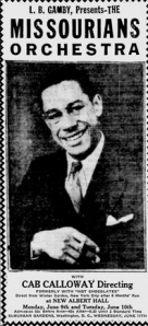 The Afro American   Google News Archive Search-Missourians Cab Calloway June 7, 1930