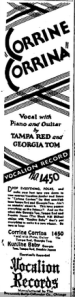 The Afro American   Google News Archive Search-Tampa Red Vocalion  Feb 15, 1930