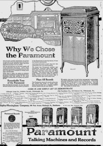 The Pittsburgh Press   Google News Archive Search-Paramount Phonograph 192 0
