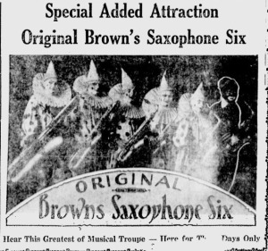 Beaver Falls Tribune   Google News Archive Search-browns saxophone six