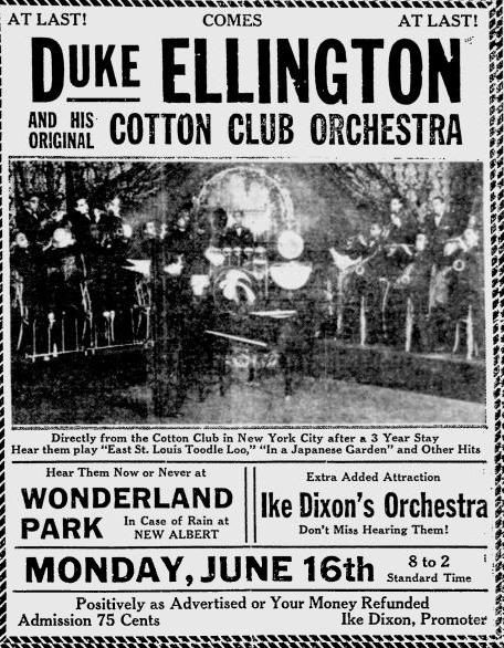 Duke Ellington School Tour