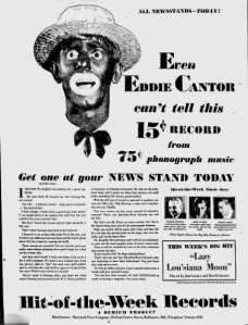 The Afro American   Google News Archive Search-EDDIE CANTOR