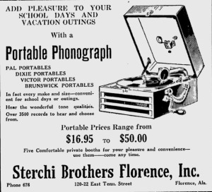 Times Daily   Google News Archive Search-portable phonograph