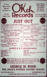 old fulton ny post cards-pittsburgh courier sept 6, 1924 ajax records.