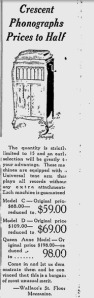 Schenectady Gazette   Google News Archive Search-crescent phonograh-june 8, 1922